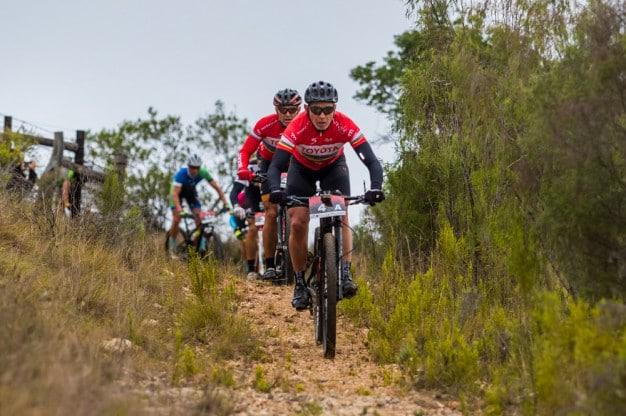 Springbok rugby legend Joel Stransky aims to be competitive in this month's PwC Great Zuurberg Trek mountain bike race after recovering from injuries sustained in the Cape Epic. Photo: Warren Elsom/Capcha Photography