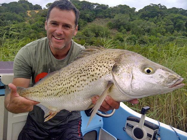 Lake fishing Grunter at Kosi Bay