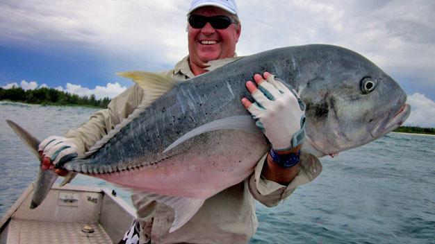 Kingfish caught in Kosi Bay