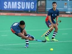 CAPTION: The skills of Madibaz star Chad Cairncross will play an important role for them when they compete in the University Sport South Africa hockey week in Johannesburg from June 28 to July 2. Photo: Saspa