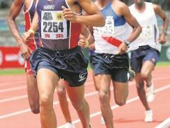 CAPTION: Bestmed Madibaz distance runner Mariano Eesou is hoping for a podium finish in the half marathon at the World Student Games in Taipei, Taiwan. Photo: Supplied