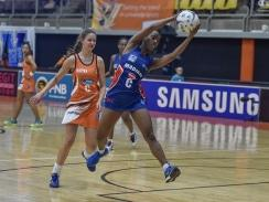 CAPTION: Nandipha Jack will lead the SPAR Madibaz netball team in the fifth edition of the Varsity Netball tournament that starts next week. Photo: Saspa