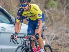Caption: RoadCover's Brendon Davids won the Bestmed Jock Tour after finishing third on the final stage in Mbombela, Mpumalanga, today. Photo: Memories4U Photography