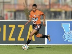 CAPTION: University of Johannesburg star Presocious Matabologa will be one of their key players when the Varsity Football women's tournament gets under way in Potchefstroom next Thursday. Photo: Saspa