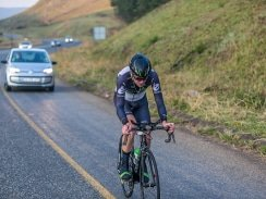 CAPTION: DiData pro Kent Main executed his strategy to perfection to win the opening stage of the Bestmed Jock Tour between Mbombela and Kaapsehoop in Mpumalanga today. Photo: Memories4U