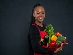 CAPTION: MasterChef contestant Khayakazi Kepe was able to kick-start her career in the local food industry through the TOPS at SPAR Goodnight Market and SPAR Eastern Cape Valley Market. Photo: Supplied