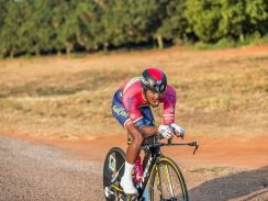 Caption: RoadCover professional Clint Hendricks will be aiming to continue his good form when he tackles the 98km feature race at the Tshwane Classic in Pretoria on Sunday. Photo: Memories 4 U Photography