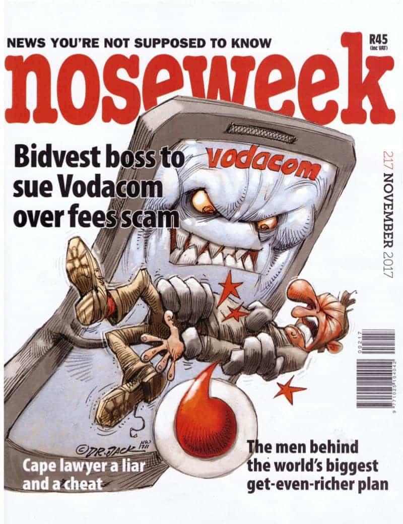 noseweek November 2017