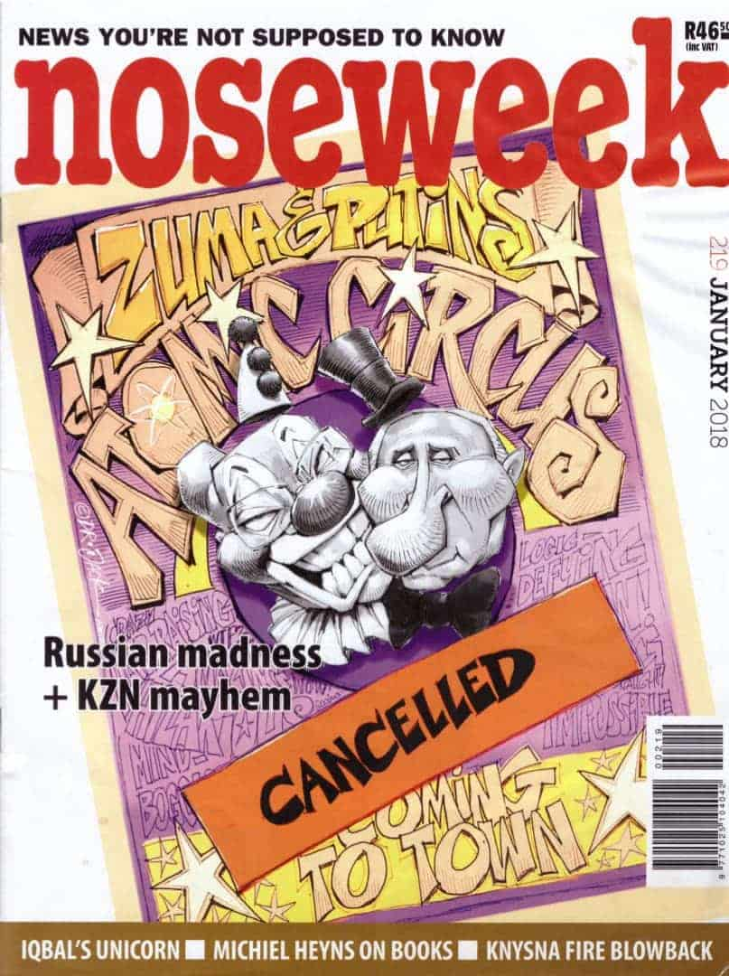 noseweek January 2018