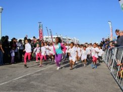 CAPTION: The annual SPAR Women's 10km Challenge week in Port Elizabeth will kick off with the Little Ladies race over 2.5km at Pollok Beach on Tuesday. Picture: Leon Hugo