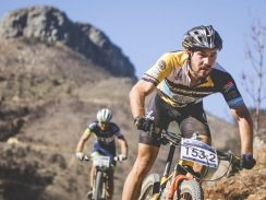 Caption: Marco Joubert will be competing in his second race since breaking a collarbone earlier this year when he partners Dylan Rebello in the three-day Liberty Winelands Encounter starting near Stellenbosch on Friday. Photo: Ewald Sadie