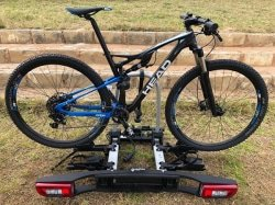 CAPTION: South African cyclists will be able to view the Westfalia BC 75 ZA bike rack, which is available to order from tomorrow, at the Positive Sports Solutions showroom in Irene, Centurion. Picture: Supplied