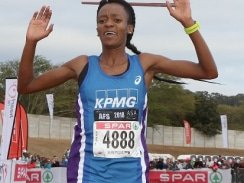 CAPTION: Kesa Molotsane, who won the Grand Prix Series last year, will be back to defend her title in the SPAR Women's 10km Challenge in Port Elizabeth on Saturday. The race starts at 7am. Picture: Reg Caldecott