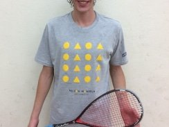 Caption: John Kuhn, of the Nelson Mandela University George campus, won the Madibaz Open squash title in his first appearance in the event when he defeated local star Rudi van Niekerk 3-2 in the final at the south campus in Port Elizabeth on Sunday. Picture: Supplied