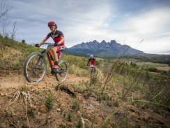 Caption: Swiss star Ariane Luthi will make her first appearance in the PwC Great Zuurberg Trek mountain bike race when she partners five-time national marathon champion Robyn de Groot in the three-day event starting at Zuurberg Mountain Inn on Friday: Picture: Ewald Sadie