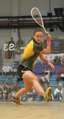CAPTION: University of Johannesburg squash star Alexa Pienaar will defend her individual title at the University Sport South Africa tournament at Nelson Mandela University in Port Elizabeth from July 2 to 6. Picture: Supplied