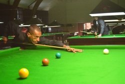 Caption: Cape Town star Mutalieb Allie has crowned the South African snooker singles champion for the first time when he defeated Goodwood clubmate Tariq Samsodien 7-3 in the final in Port Elizabeth on Saturday. Picture: Full Stop Communications