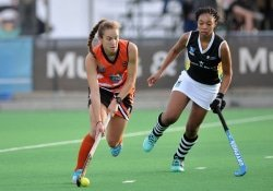 CAPTION: University of Johannesburg player Kristen Paton is delighted to be in the South African hockey squad to compete in the World Cup tournament, which starts in London on July 21. Picture: Saspa