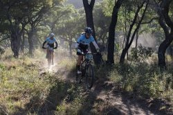 Caption: Competitors in the Liberty Waterberg Encounter, presented by STANLIB, will face some interesting challenges in the three-day mountain-bike race in Bela Bela, Limpopo, from Friday to Sunday. Picture: Gerrie Kriel/Twin Productions SA