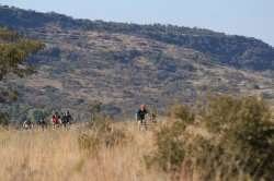 Caption: The Liberty Waterberg MTB Encounter, presented by STANLIB, offers wide and open sections where riders can enjoy the experience of a bushveld mountain-biking challenge. Photo: Gerrie Kriel/Twin Productions SA