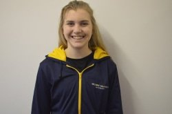 CAPTION: Madibaz No 1 Hayley Ward received the award for the most promising player at the University Sport South Africa squash championships at Nelson Mandela University in Port Elizabeth last week. Picture: Brittany Blaauw
