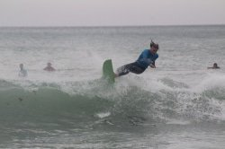CAPTION: Leading Madibaz surfer Greg Cuthbert will lead his team's bid to capture the University Sport South Africa title when the annual tournament is held at Victoria Bay near George from tomorrow to Saturday. Picture: Supplied