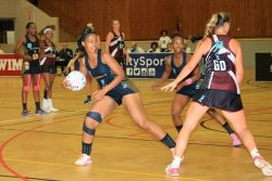 CAPTION: Nolusindiso Twani will be vice-captain of the SPAR Madibaz netball team that begins the Varsity Netball tournament at the Madibaz Sports Centre at the Nelson Mandela University South Campus in Port Elizabeth on Sunday. Picture: AM Photography