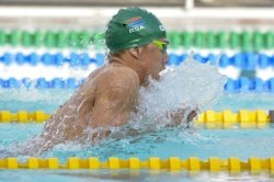 Caption: Breaststroke specialist Alaric Basson will be a key member of the Nedbank Madibaz swimming team when they compete in the University Sport South Africa gala at the Newton Park pool in Port Elizabeth from Friday to Sunday. Picture: Supplied