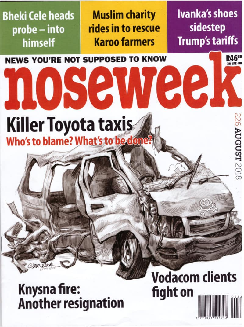 noseweek August 2018