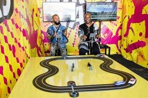 Tshego Koke and Sikelela Finini(NikNaks Brand Activation Manager)