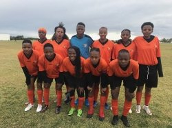 Caption: The University of Johannesburg women's team will be aiming to continue their good form in the Varsity Football tournament, starting in Potchefstroom on Thursday. Pictured after winning the University Sport South Africa title in Port Elizabeth in July are, back, from left: Potso Aphane, Ntombizodwa Mokenela, Dineo Magagula, Mechaela Springkaan, Phindile Matu and Boitumelo Rasehlo; front, from left: Lethabo Kekana, Amanda Mthandi, Charity Valoyi, Thato Letsoso (captain) and Sizakele Ndlovu. Picture: Supplied