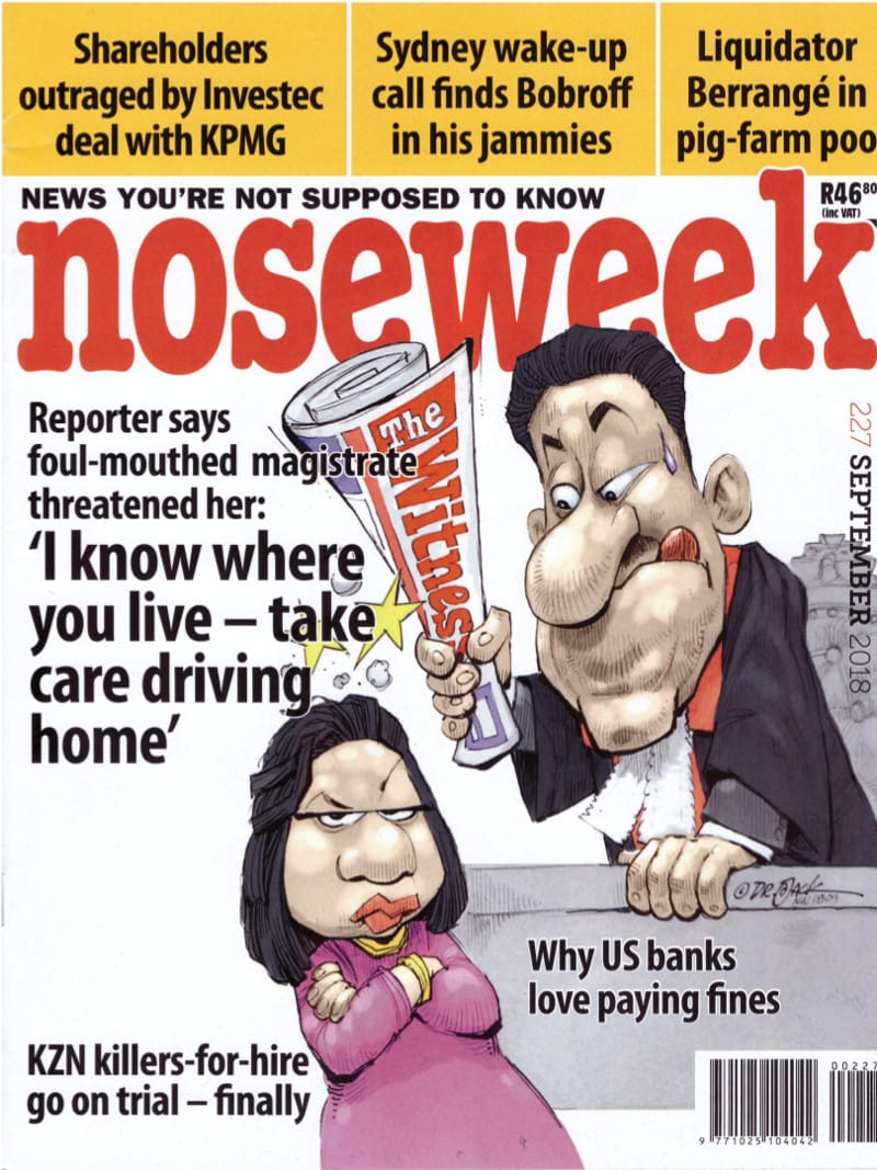 noseweek September 2018