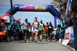 Caption: More than 1 000 runners and walkers are expected to take part in the annual SPAR Daily Dispatch Summer Fun Run, starting at Orient Pools in East London on November 25. There will be distances of 8km and 4km. Picture: Mark Andrew