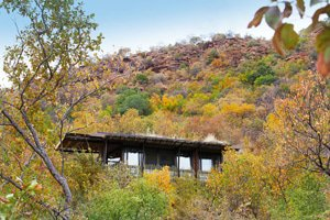Mountain Lodge has just five eco-suites, ensuring privacy and tranqullity.