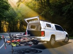 CAPTION: Following strong demand from cycling enthusiasts, the Westfalia three-bike rack is available in the Southern African Development Community through distribution company Positive Sports Solutions. Photos: Supplied