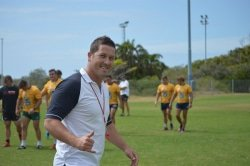 CAPTION: Madibaz rugby coach Jarryd Buys is hoping the team will start their Varsity Shield programme on a winning note when they take on Cape Peninsula University of Technology at the Madibaz Stadium on Monday. Picture: Lebogang Sandla