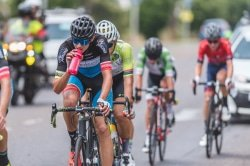 CAPTION: Marc Pritzen and his team, OfficeGuru Racing, will be chasing further success when the Takealot Berge & Dale road cycle race over 108km takes place in Krugersdorp on the West Rand on Saturday. Photo: Henk Neuhoff