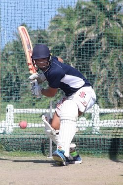 CAPTION: Madibaz cricket captain David Masterson prepares for the Momentum National Club Cricket Championship, starting in Pretoria on Saturday. Photo: Supplied