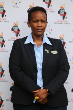 CAPTION: University of Johannesburg senior director of sport Nomsa Mahlangu has been elected as the first women's president of the Federation of African University Sports. Photo: Supplied