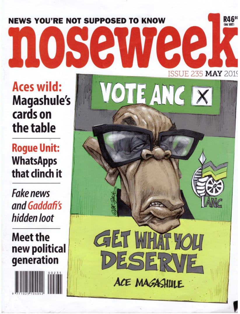 noseweek May 2019