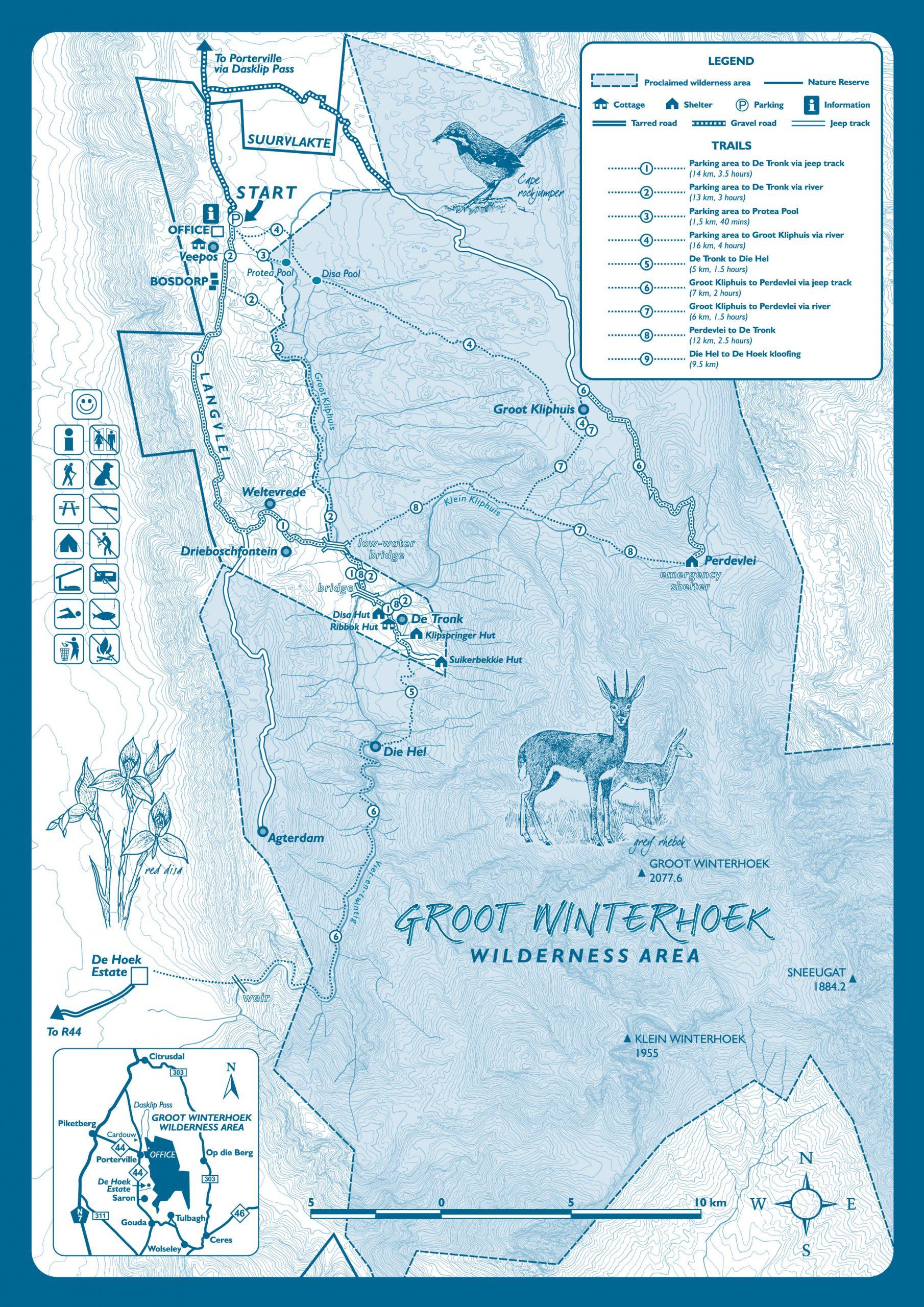 Grootwinterhoek Map