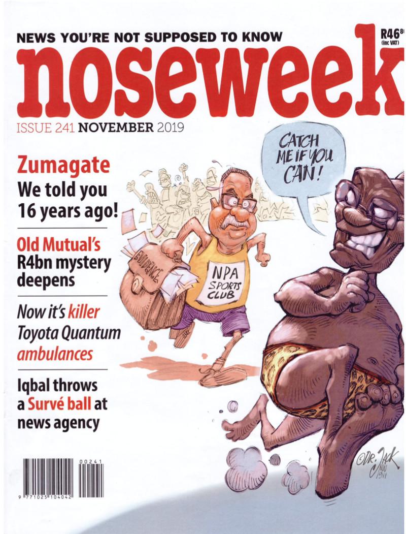 noseweek Novemberl 2019