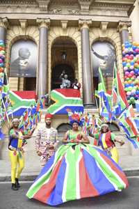 Cape Town Carnival performers