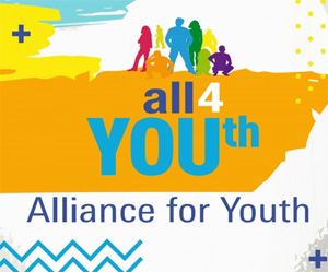 unemployed youth with All4youth