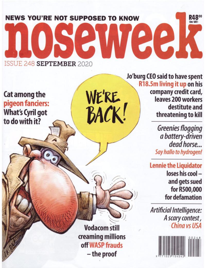 noseweek September 2020