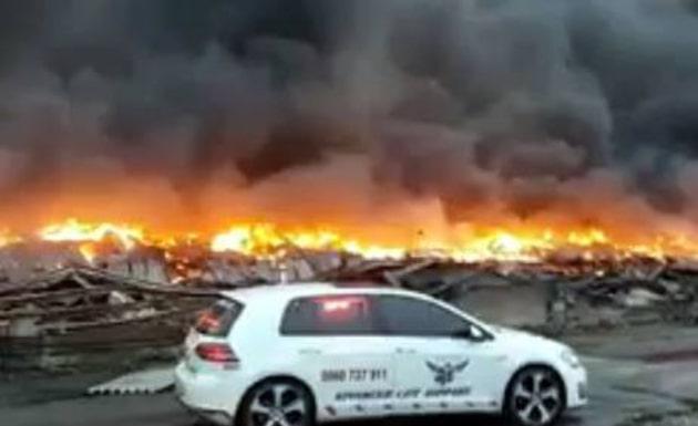 Durban warehouse fire will run into millions