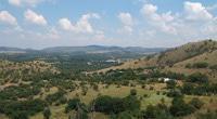 Hiking in the magaliesberg mountains.