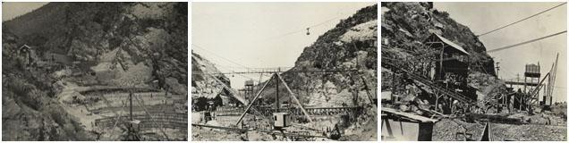 Construction of the Hartbeespoort Dam wall