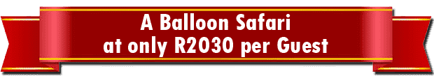 "Bill Harrop's ""original"" Balloon Safaris Special Offer 