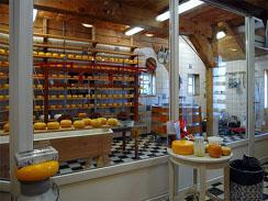 Cheese factory at Van Gaalen
